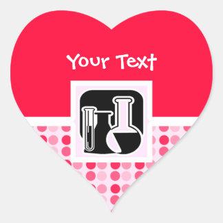 Cute Chemistry Heart Sticker