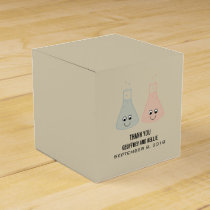 Cute Chemistry Wedding Favor Boxes