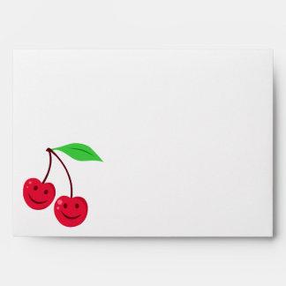 Cute Cherries Envelope
