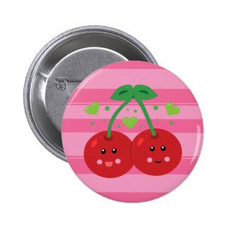 Cute Cherries Pinback Button