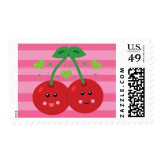 Cute Cherries Postage