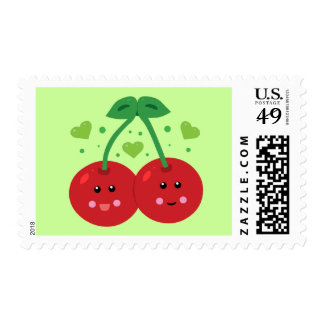 Cute Cherries Stamp