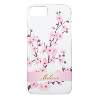 Cute Cherry Blossoms iPhone 8/7 Case