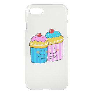 cute cherry cupcakes best friends iPhone 8/7 case