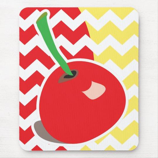 Cute cherry mousepad
