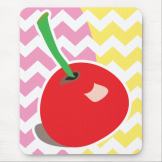 Cute cherry mousepad