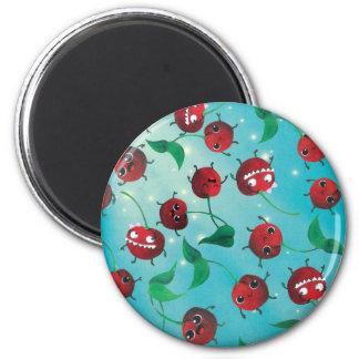 Cute Cherry Pattern Fridge Magnet