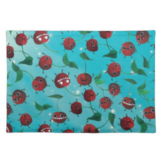 Cute Cherry Pattern Placemat