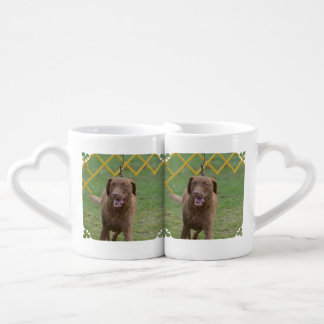 Cute Chesapeake Bay Retriever Couple Mugs