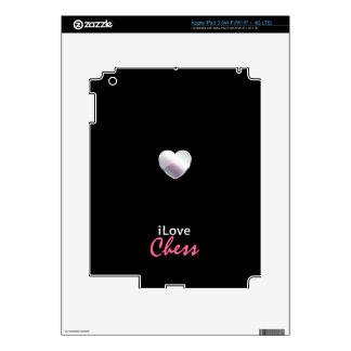 Cute Chess iPad 3 Decals