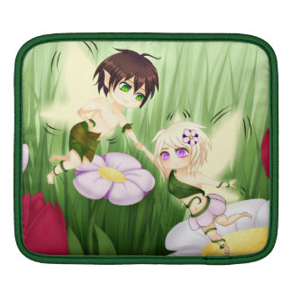 Cute Chibi Fairy Boy and girl Sleeves For iPads