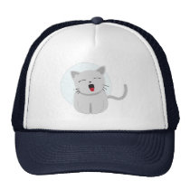 Cute Chibi Kitty Cat 3 Trucker Hat