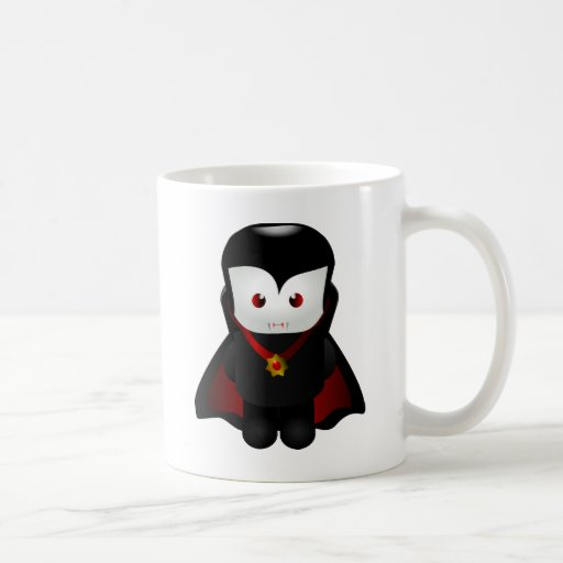Cute Chibi Vampire Coffee Mugs Zazzle