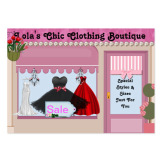 CUTE Chic  Boutique Business Cards