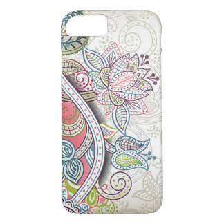 Cute Chic Classic Ornate Vintage Floral Pattern iPhone 8/7 Case