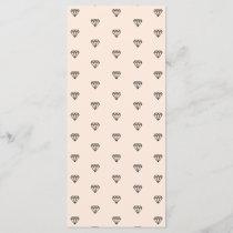 Cute Chic Diamond Pink Pattern