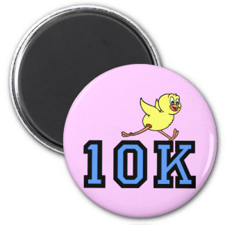 Cute chick 10K 2 Inch Round Magnet