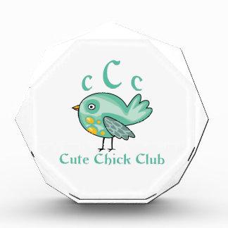 CUTE CHICK CLUB MEMBER AWARD