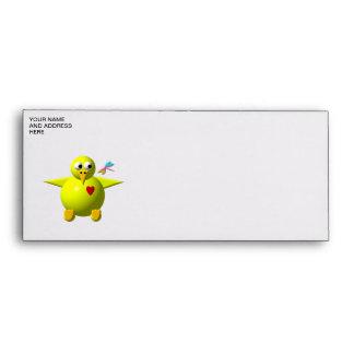 Cute chick envelopes