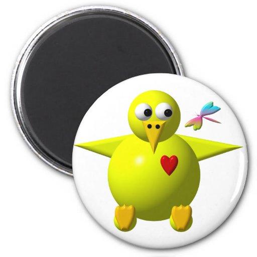 Cute chick fridge magnets