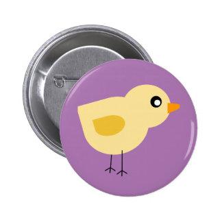 Cute Chick Pinback Button