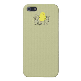 Cute Chick Runs Amok! iPhone 5/5S Covers