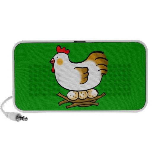cute chicken and eggs mini speaker