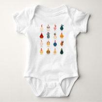 Cute Chicken Baby Bodysuit