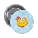 Cute Chicken button