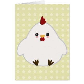Cute Chicken Cards