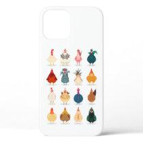 Cute Chicken iPhone 12 Case