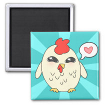 Cute Chicken Magnet