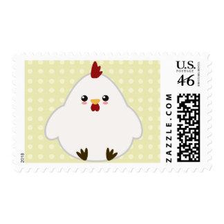Cute Chicken Stamp