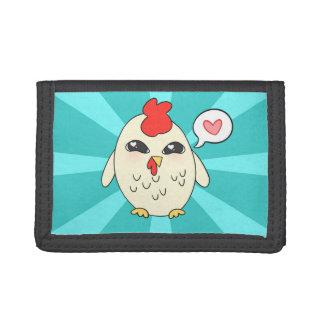 Cute Chicken Tri-fold Wallets