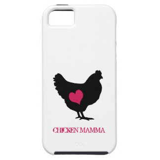Cute Chicken with Pink Heart iPhone SE/5/5s Case