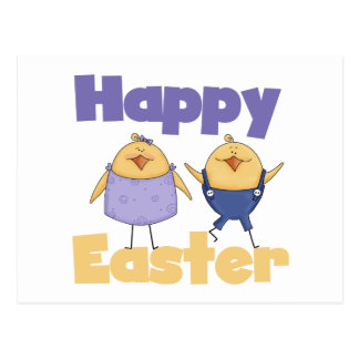 Cute Chicks Easter T-shirts and Gifts Postcard