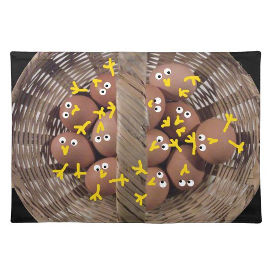 Cute Chicks Placemat
