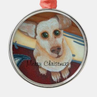 cute chihauhau christmas ornament