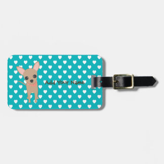 Cute Chihuahua Bag Tag