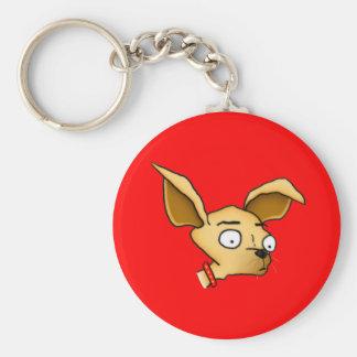 Cute Chihuahua Basic Round Button Keychain