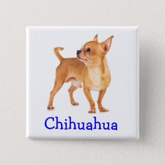 Cute Chihuahua Button Pin