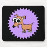 Cute Chihuahua Cartoon Mouse Pad