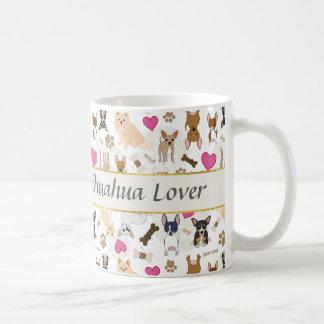 Cute Chihuahua Dogs Pattern Personalized Coffee Mug