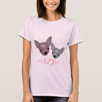 Cute Chihuahua Faces T-Shirt