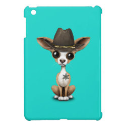 Case Savvy iPad Mini Glossy Finish Case with Chihuahua Phone Cases design