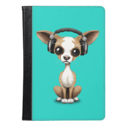 iPad Air Folio Case by Ivoke with Chihuahua Phone Cases design
