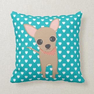Cute Chihuahua Throw Pillow