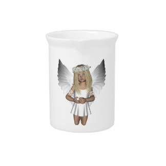 Cute Child Angel Purity Designer Pitcher