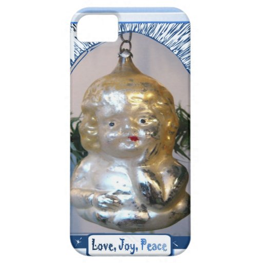Cute child decoration, Love Joy Peace iPhone 5 Covers