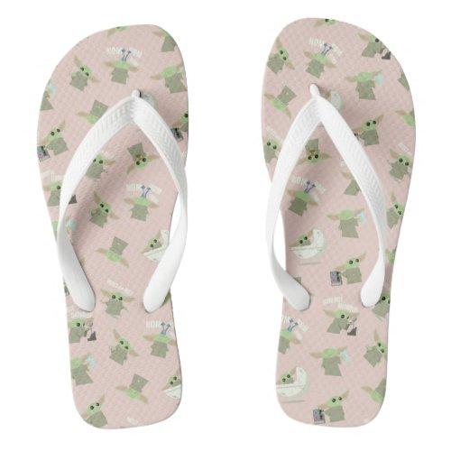 Cute Child Pattern Flip Flops